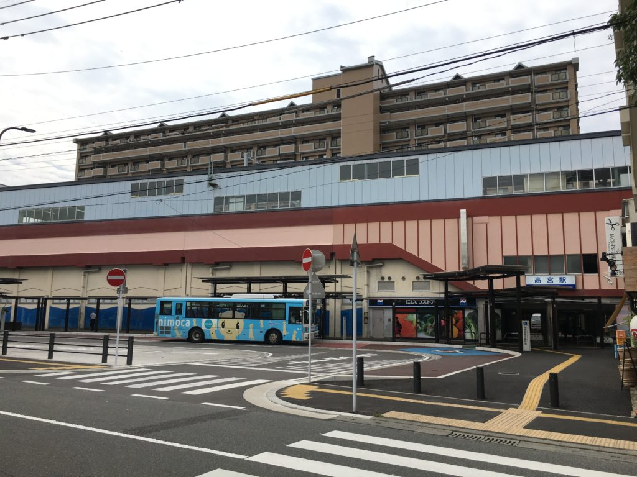 高宮駅 バスロータリー