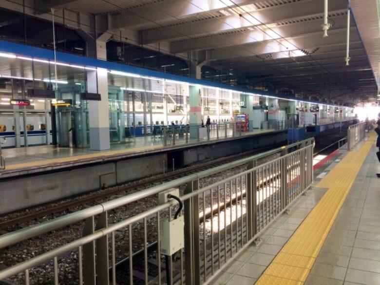 博多駅 新幹線ホーム