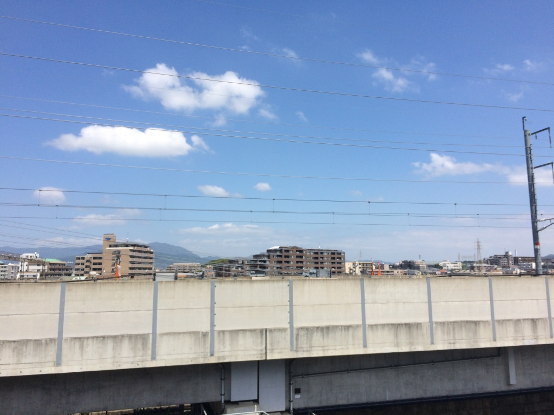 新幹線の情景