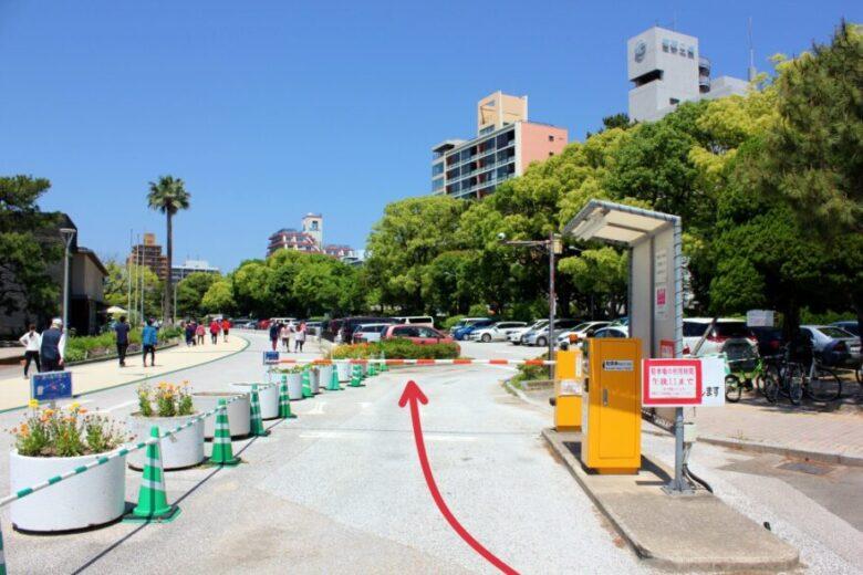 大濠公園 駐車場