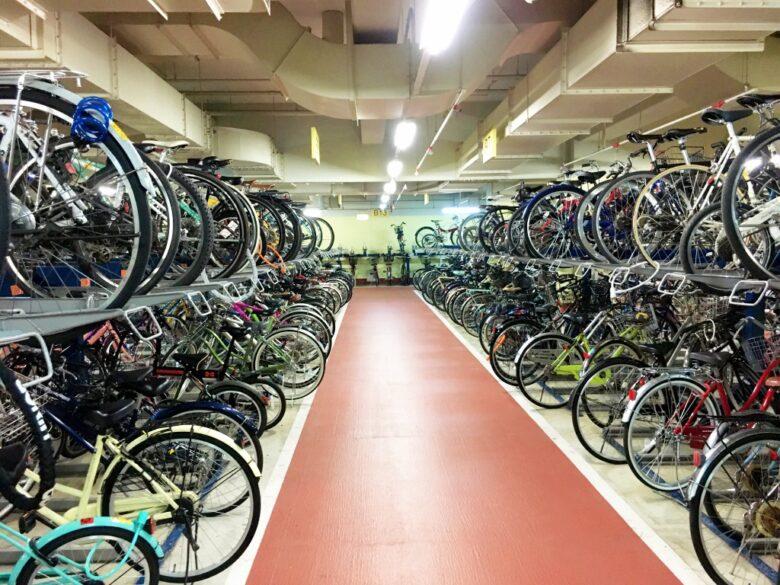 天神自転車駐輪場