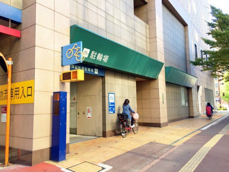 中洲川端自転車駐輪場