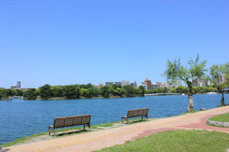 大濠公園 雰囲気