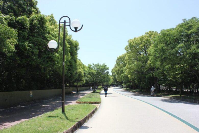 大濠公園 西側