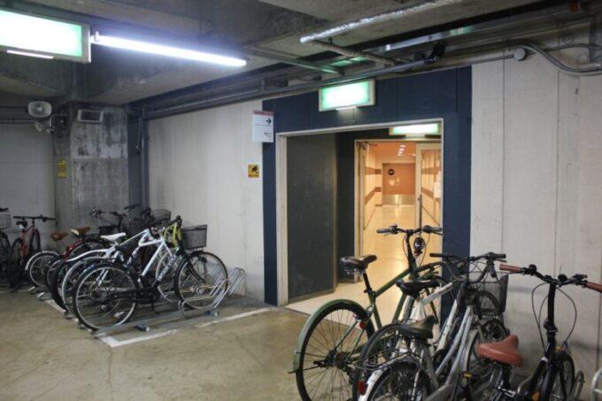 キャナルシティ博多の駐輪場
