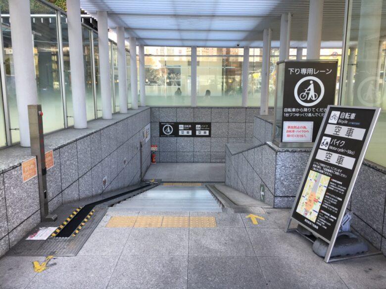 博多駅地下駐輪場