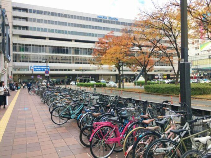 博多駅路上自転車駐輪場