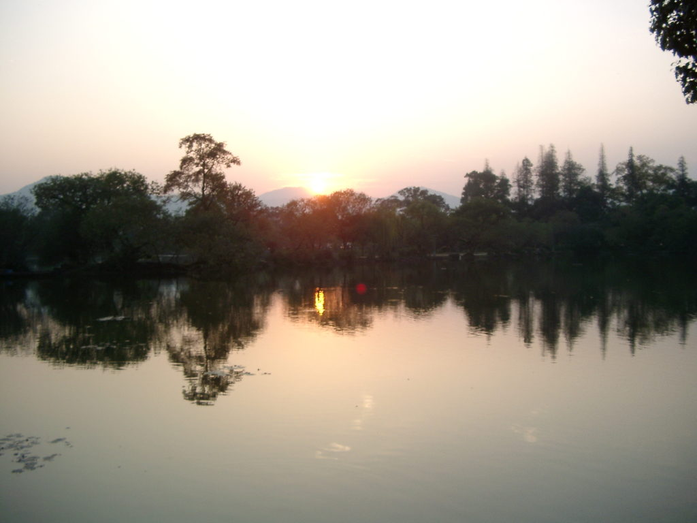 西湖と大濠公園