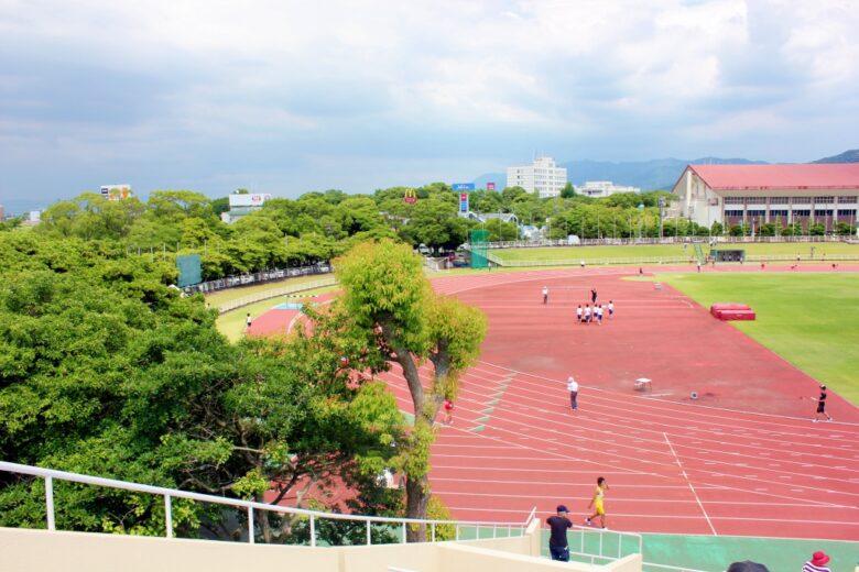 久留米スポーツセンター陸上競技場