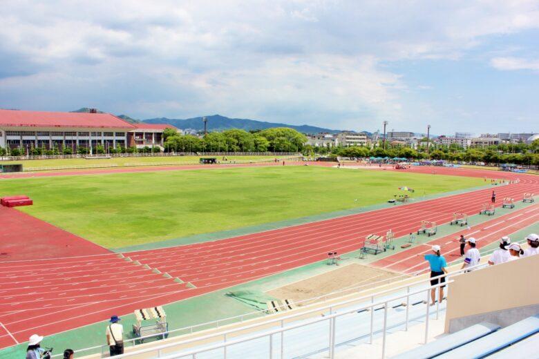 久留米総合スポーツセンター 陸上競技場
