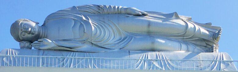 柳川の涅槃像