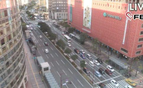 福岡市内のライブ映像