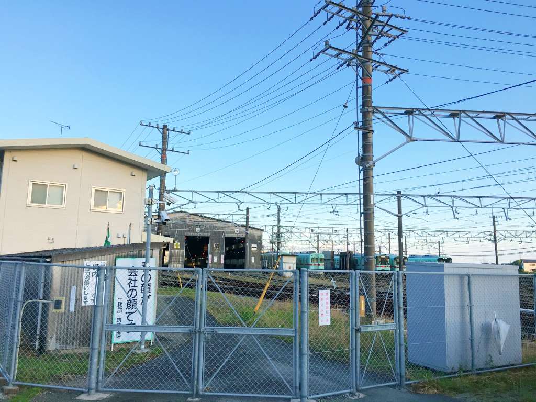 柳川車両基地