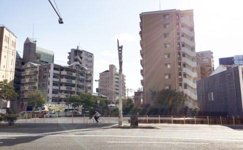 西鉄平尾駅前の福岡市計量検査所
